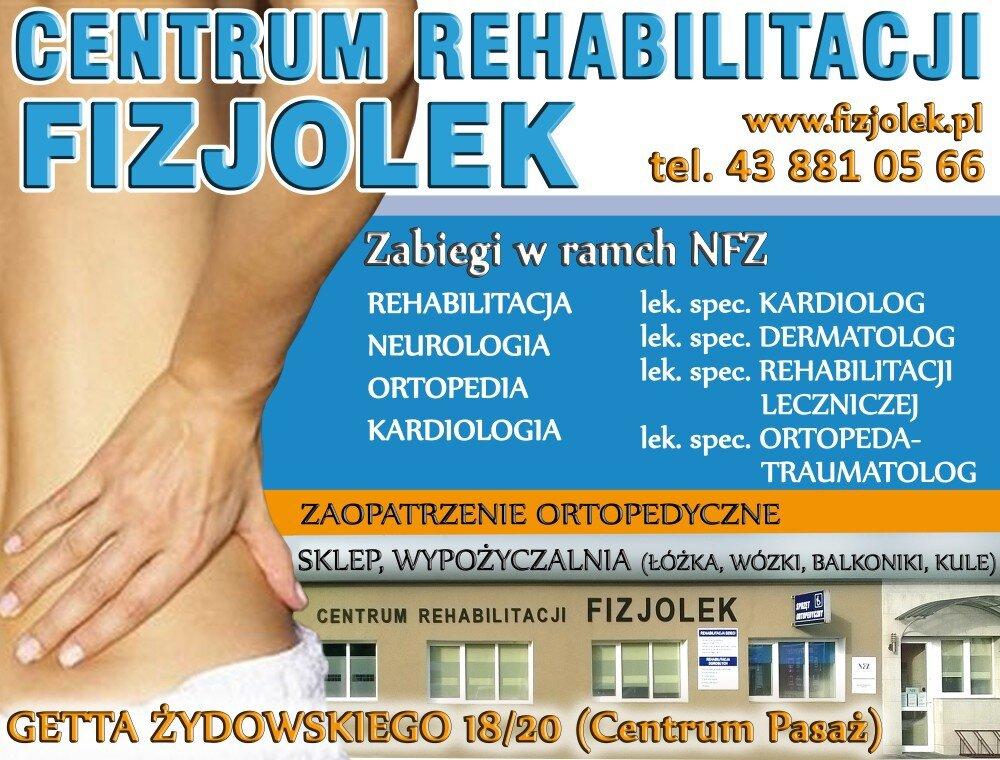 Centrum Rehabilitacji Fizjolek
